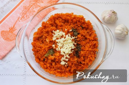 Как приготовить морковную икру